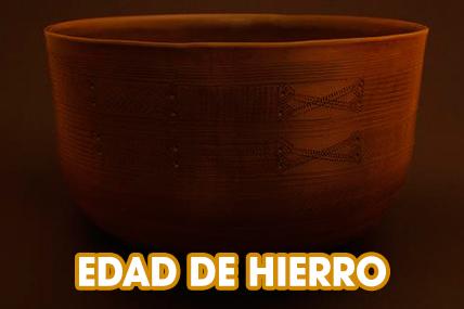 CERÁMICA EDAD DE HIERRO